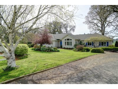 Aumsville Single Family Home Sold: 11278 Simpson Rd SE