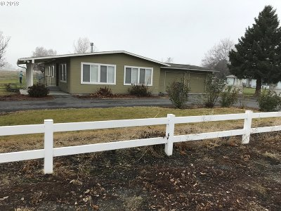 Umatilla County Single Family Home For Sale: 53664 W Ferndale Rd
