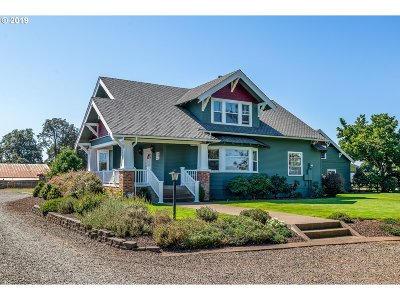 Junction City Single Family Home For Sale: 27390 High Pass Rd