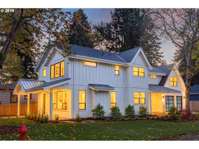 Lake Oswego Single Family Home For Sale: 892 8th St