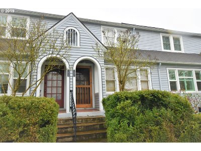 Eugene Condo/Townhouse For Sale: 1681 Olive St