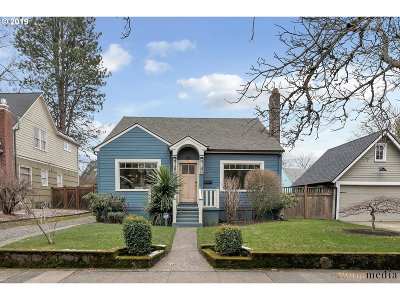 Portland Single Family Home For Sale: 3425 NE 14th Ave