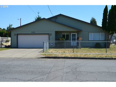 Stayton Single Family Home Pending: 780 N 7th Ave