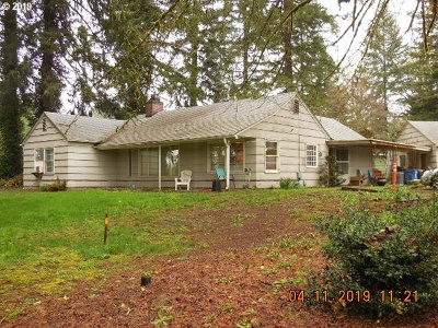 Single Family Home For Sale: 23919 NE 132nd Ave