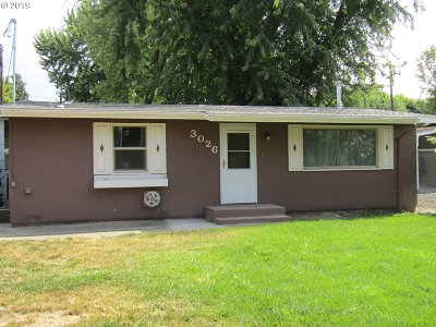 Pendleton Single Family Home For Sale: 3026 SW Hailey Ave