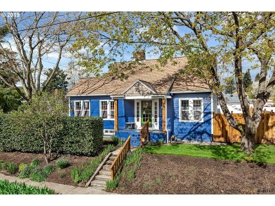 Portland Single Family Home For Sale: 6907 N Hodge Ave