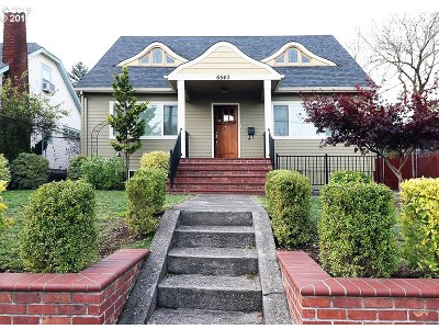 Clackamas County, Multnomah County, Washington County Single Family Home For Sale: 6543 N Interstate Ave