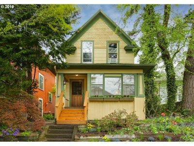 Single Family Home For Sale: 3727 SE Alder St