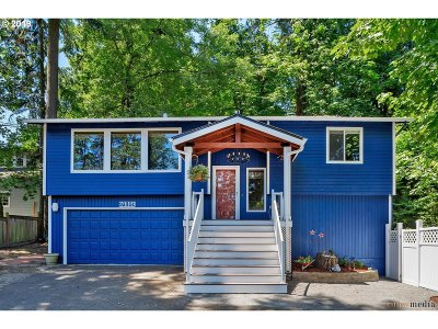 Lake Oswego Single Family Home For Sale: 16351 Pacific Hwy