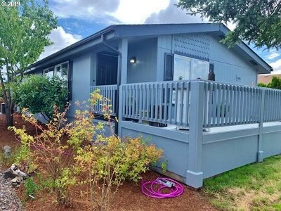 Eugene Single Family Home For Sale: 1699 N Terry St Space 331