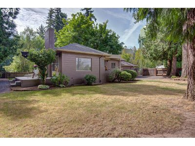 Single Family Home For Sale: 4980 SW Scholls Ferry Rd