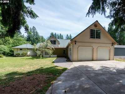 Leaburg Single Family Home For Sale: 42938 Leaburg Dr