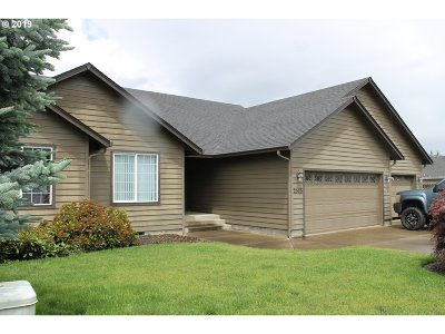 Sutherlin Single Family Home For Sale: 2573 Golfview Ave