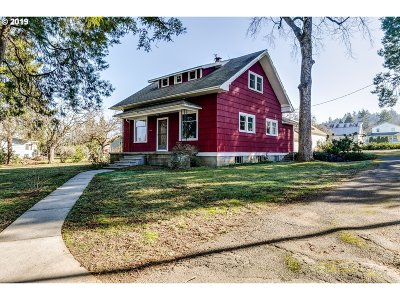 Cottage Grove, Creswell Single Family Home For Sale: 1750 S 6th St
