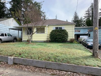 Coquille Single Family Home For Sale: 1570 N Ivy