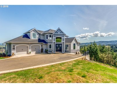 Scappoose Single Family Home For Sale: 52687 Skyline Ter