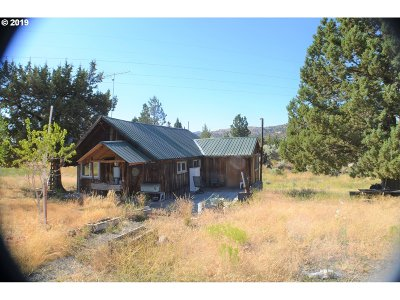 Grant County Single Family Home For Sale: 27404 W Bench Rd
