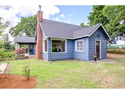 Junction City Single Family Home For Sale: 24618 N Hwy 99w