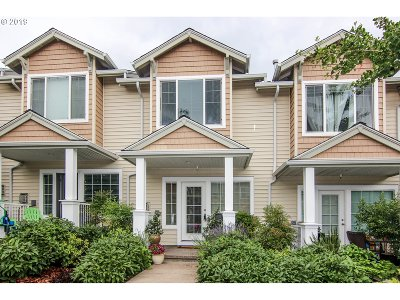 Beaverton, Aloha Condo/Townhouse For Sale: 15385 SW Mallard Dr #103