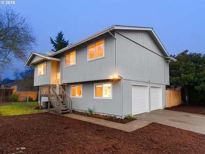 Keizer Single Family Home Pending: 5498 Joan Dr