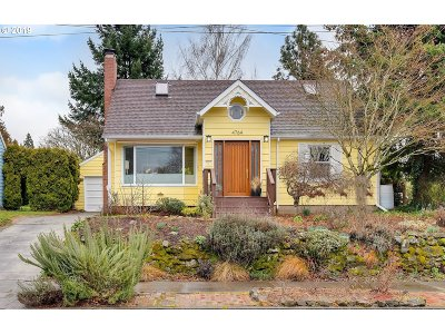 Single Family Home For Sale: 4764 SE 34th Ave