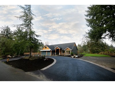 Ridgefield Single Family Home For Sale: 29504 NW 71st Ave