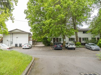 Washington County Multi Family Home Pending: 18675 SW Boones Ferry Rd