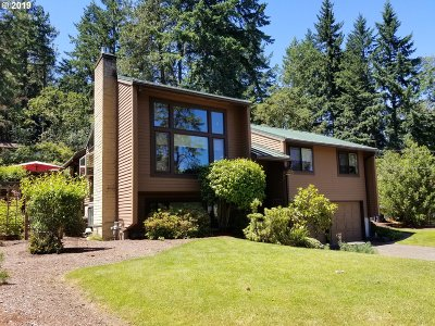 Eugene Single Family Home For Sale: 4710 W Hillside Dr