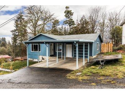 Rainier Single Family Home For Sale: 211 Fox St