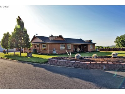 Umatilla County Single Family Home For Sale: 84956 Triangle Station Rd