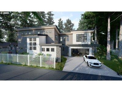 Lake Oswego Single Family Home For Sale: 4721 Firwood Rd