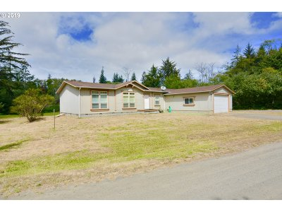 Coos Bay Single Family Home For Sale: 2396 Ocean Blvd SE