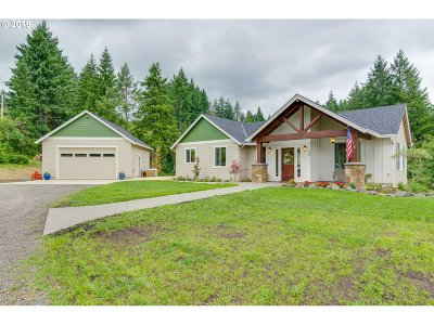 Cowlitz County Single Family Home For Sale: 652 Butte Hill Rd