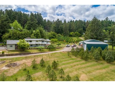 McMinnville Single Family Home For Sale: 15350 NW Orchard View Rd