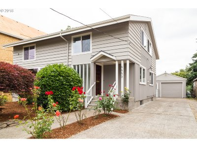 Portland Single Family Home For Sale: 6650 N Amherst St