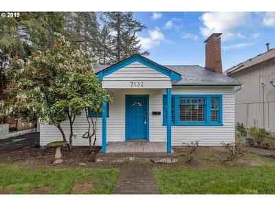 Single Family Home For Sale: 7133 SW 35th Ave