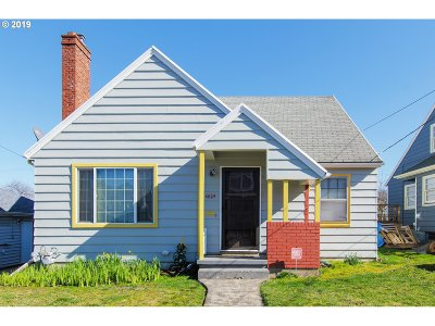 Clackamas County, Multnomah County, Washington County Single Family Home For Sale: 6824 N Haight Ave