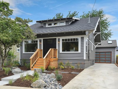 Single Family Home For Sale: 5824 SE 50th Ave