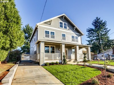Single Family Home For Sale: 6446 NE 36th Ave