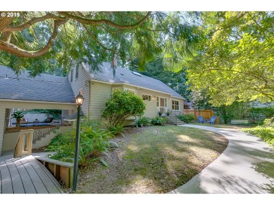 Portland Single Family Home For Sale: 3904 SW Kanan Dr