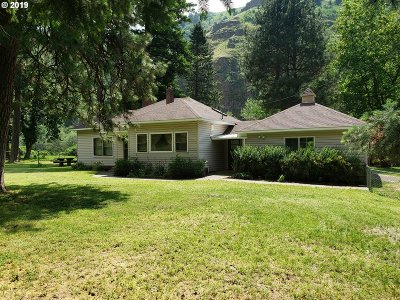 Umatilla County Single Family Home For Sale: 80260 South Fork Walla Wal Rd