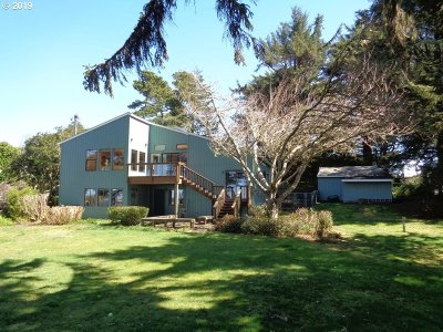 Coos Bay Single Family Home For Sale: 91511 Cape Arago Hy