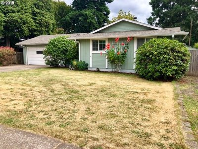 Single Family Home For Sale: 3740 Marshall Ave