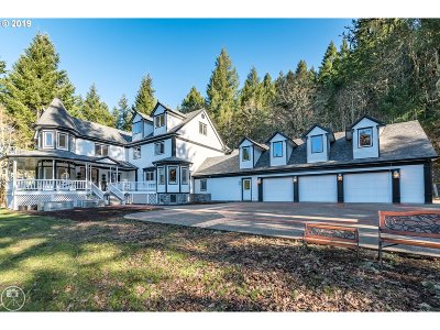 Single Family Home For Sale: 37425 SW Laurelwood Rd