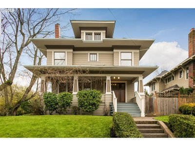 Portland Single Family Home For Sale: 2307 NE 42nd Ave
