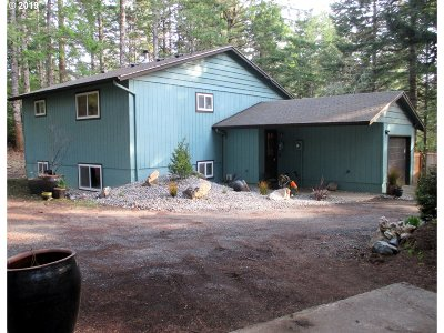 Bandon Single Family Home Bumpable Buyer: 58499 Jackie Rd