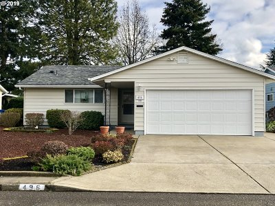 Woodburn Single Family Home Pending: 496 S Columbia Dr