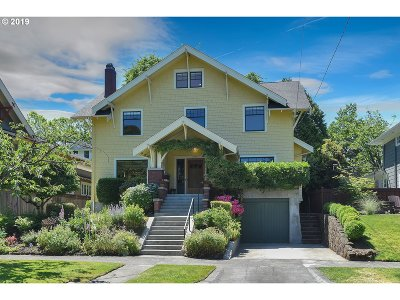 Portland Single Family Home For Sale: 2725 NE 17th Ave