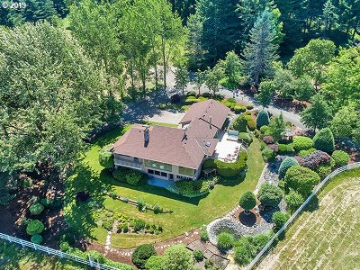 Newberg Single Family Home For Sale: 22935 SW Hillsboro Hwy