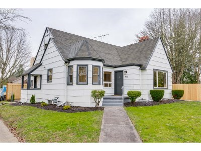 Portland Single Family Home For Sale: 7535 N Central St